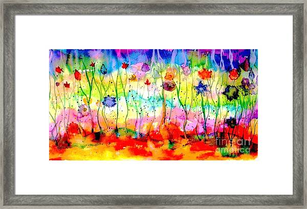 The Depths Of The Sea Framed Print