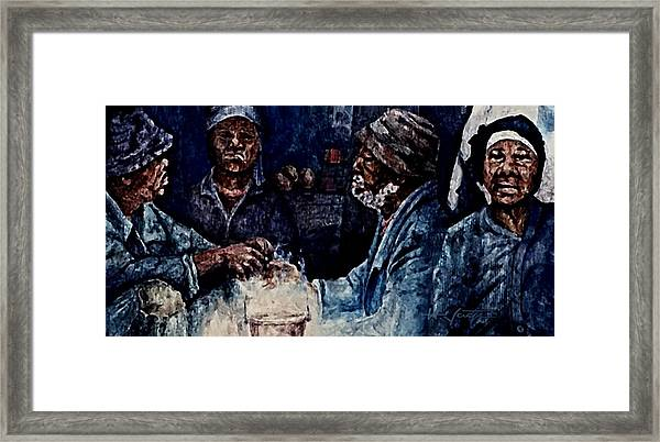 The  Desolation Of Poverty Framed Print