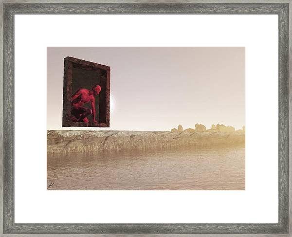 The Destroyer Cometh Framed Print