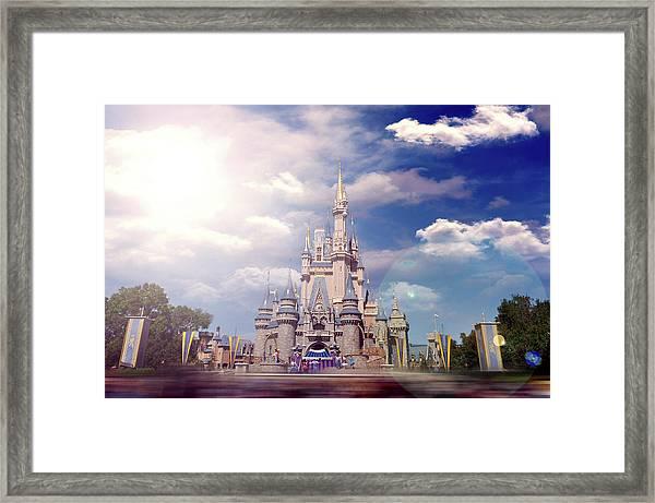 The Disney Rush Framed Print