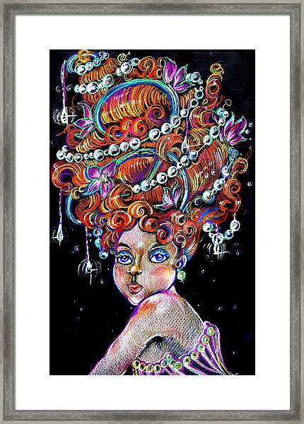 The Diva Framed Print