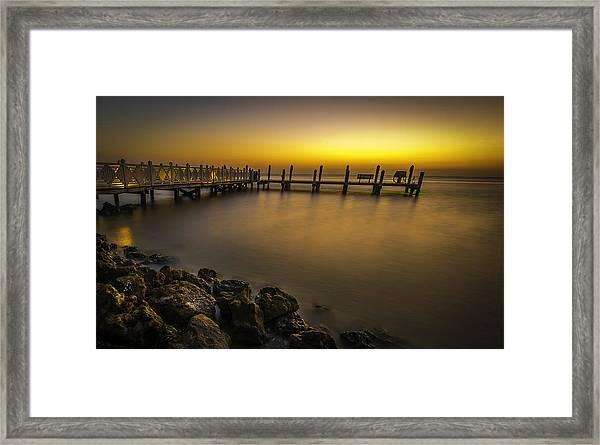 Captiva Sunrise Framed Print