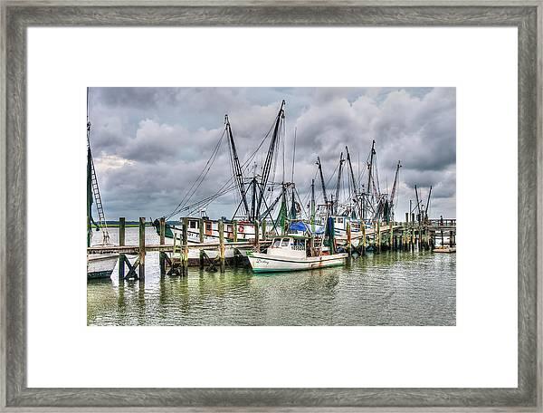 The Docks Framed Print