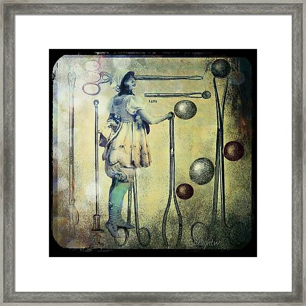 The Doctor Will See You Now Framed Print