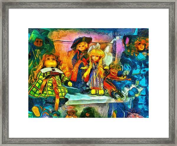 The Dolls Framed Print