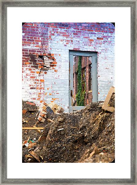 The Door Is Always Open Framed Print