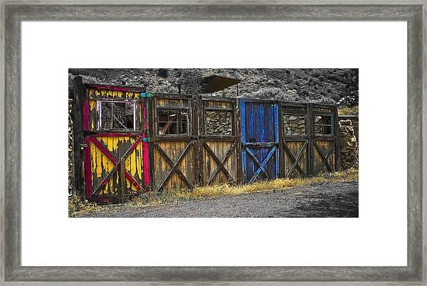 The Doors Framed Print