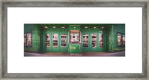 The Downer Theater 2016 Framed Print
