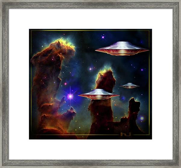 The  Eagle  Nebula  Framed Print
