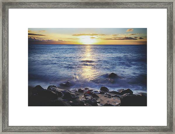 The Ebb And Flow Framed Print