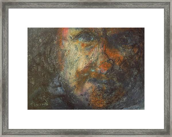 The Edge Framed Print