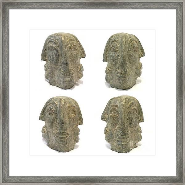 The Edge Walkers Framed Print