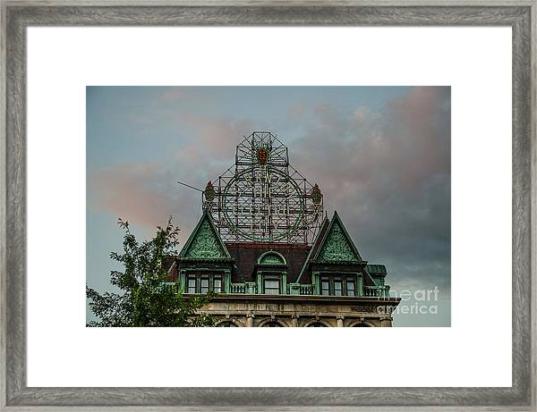 The Electric City Framed Print