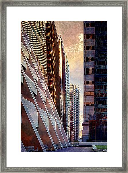 The Elevated Acre Framed Print