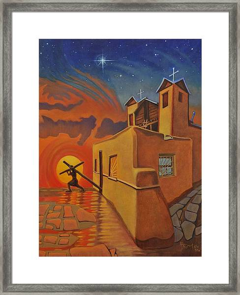 The Emancipation Of Christ Framed Print