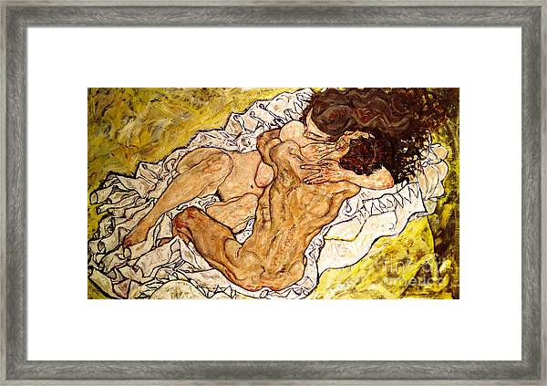The Embrace Framed Print