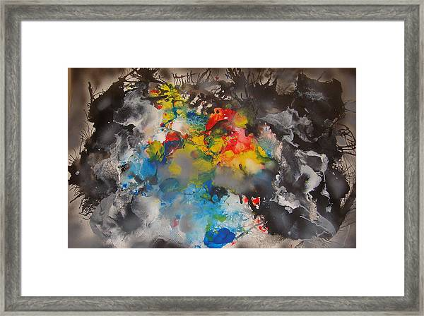 The Emergence Of Color Framed Print