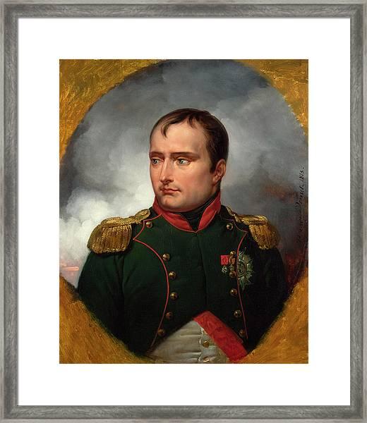 The Emperor Napoleon I Framed Print
