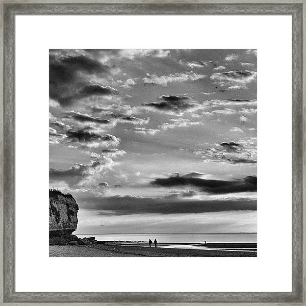 The End Of The Day, Old Hunstanton  Framed Print