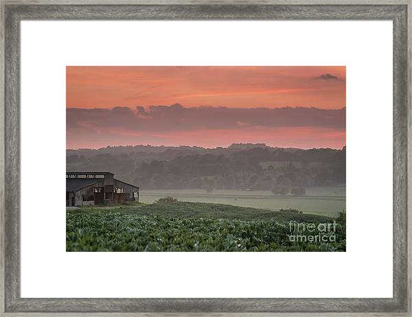 The English Landscape 2 Framed Print