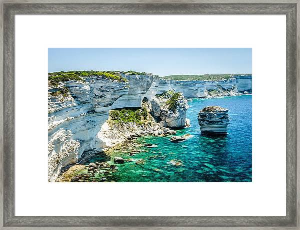 The Erosion Framed Print