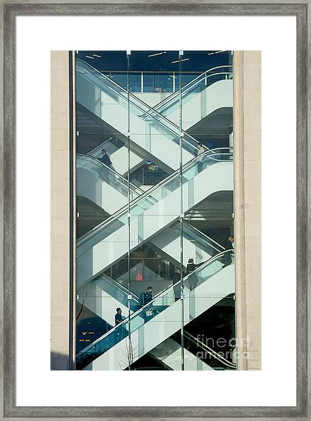 The Escalators Framed Print