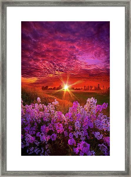 The Everlasting Framed Print