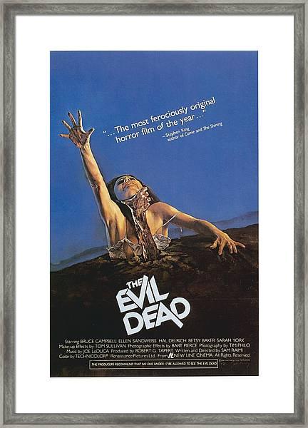 The Evil Dead Framed Print