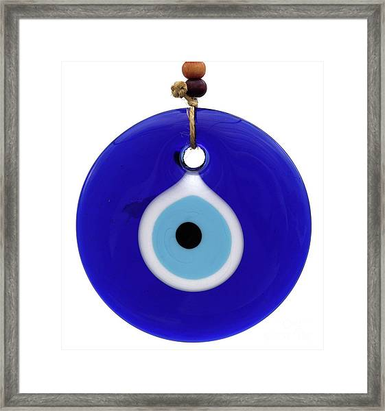 The Eye Against Evil Eye Framed Print