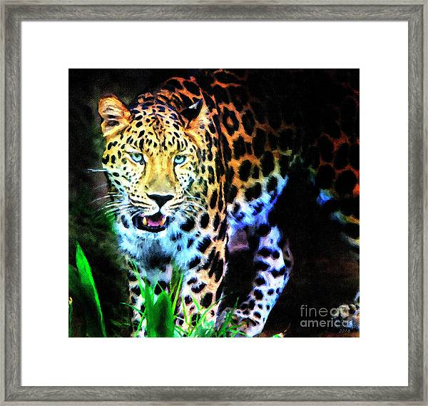 The Eyes Framed Print
