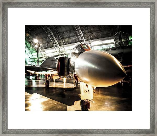 The F4 Phantom Framed Print