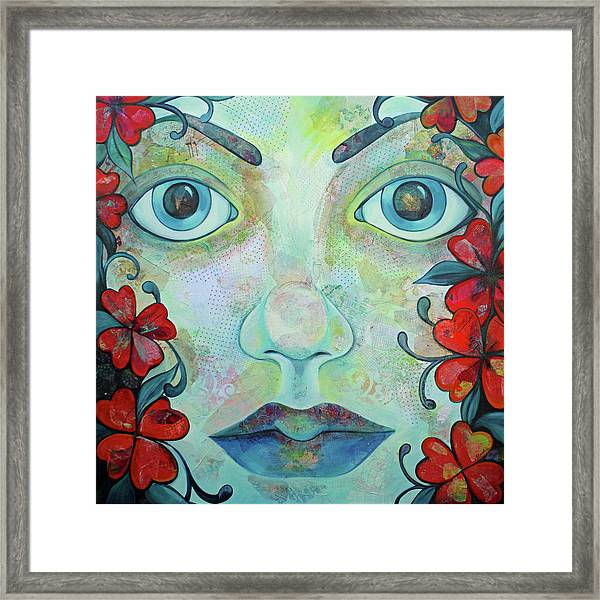 The Face Of Persephone I Framed Print