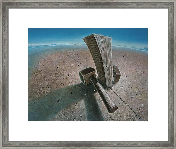 The Failure Framed Print by De Es Schwertberger