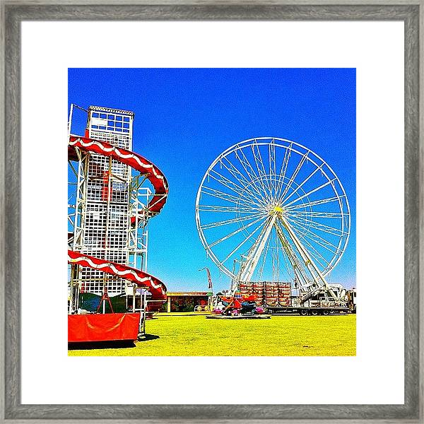 The Fair On Blacheath Framed Print