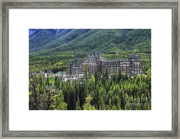The Fairmont Banff Springs Framed Print