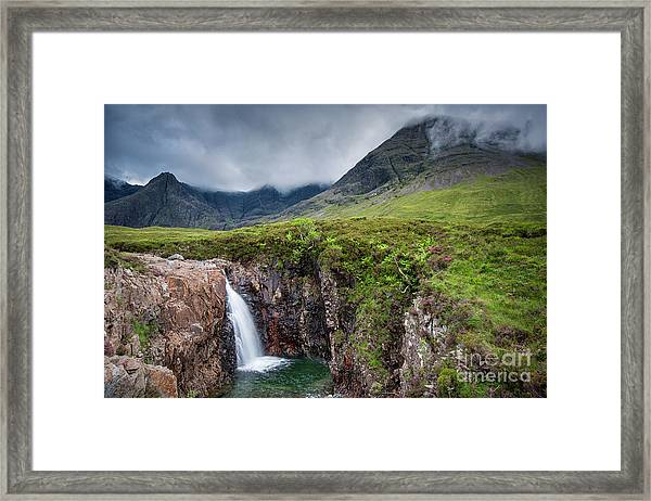 The Fairy Pools Framed Print