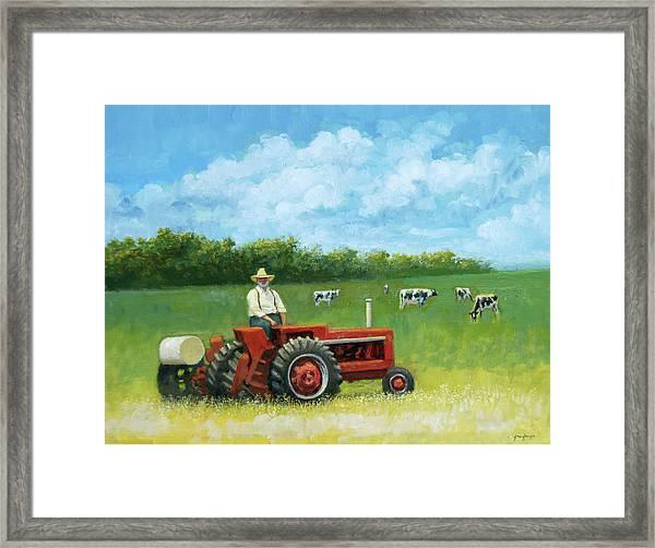 The Farmer Framed Print