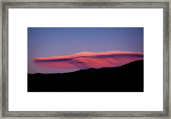 Framed Print featuring the photograph The Ferengi Cloud by Jason Coward