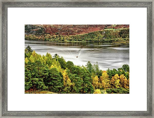 The Ferry Framed Print