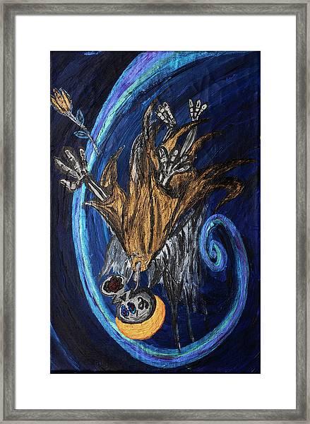 The Fffallen Angel Framed Print