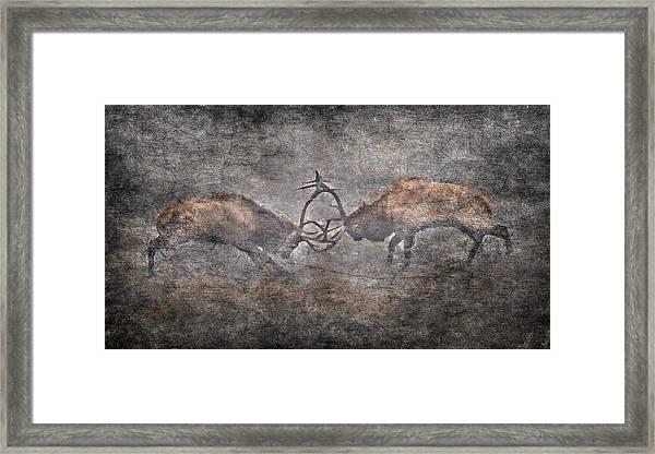 The Fight Framed Print by Garett Gabriel