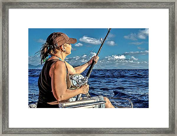 The Fighting Chair Framed Print