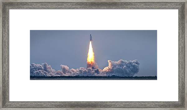 The Final Voyage Framed Print