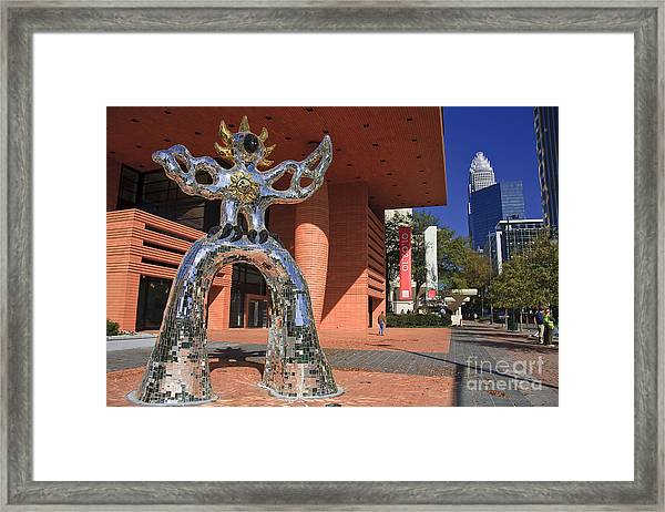 The Firebird At The Bechtler Museum In Charlotte Framed Print