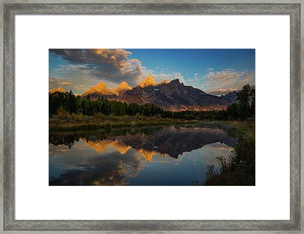 The First Light Framed Print