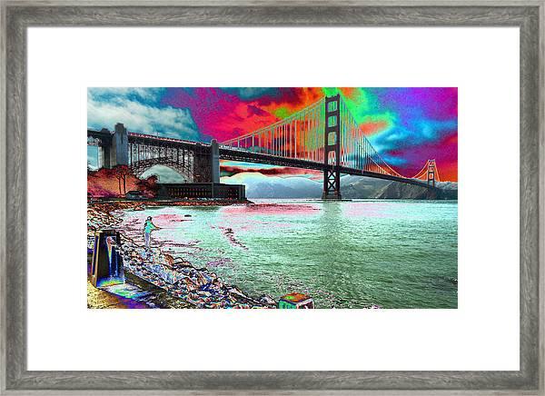 The Fisher  Framed Print