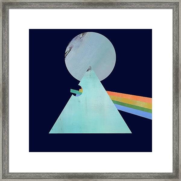 The Floyd's Dark Side Framed Print