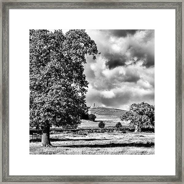 Old John Bradgate Park Framed Print