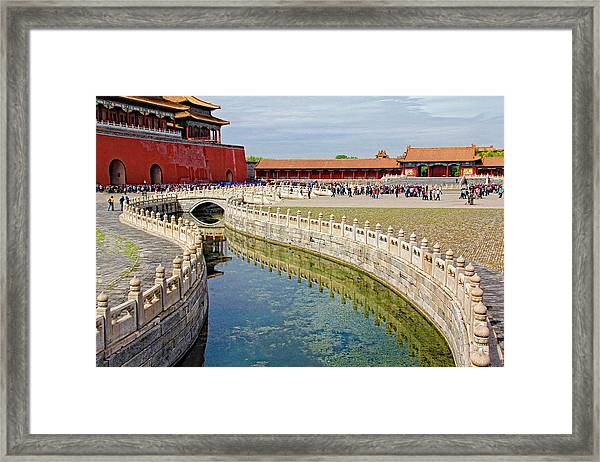 The Forbidden City Framed Print
