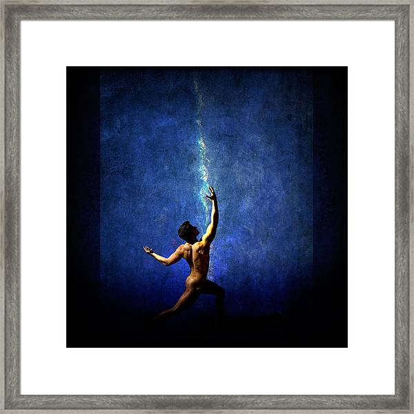 Framed Print featuring the photograph The Force by Michael Taggart